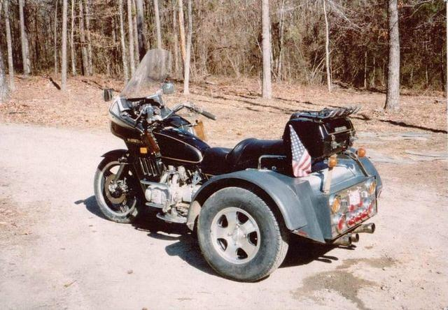 Sam and Kathie's GL1100 trike.